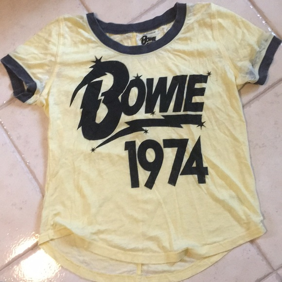 95bb7348675d59 Tops | David Bowie Vintage Tee Shirt Rock Band Classic | Poshmark